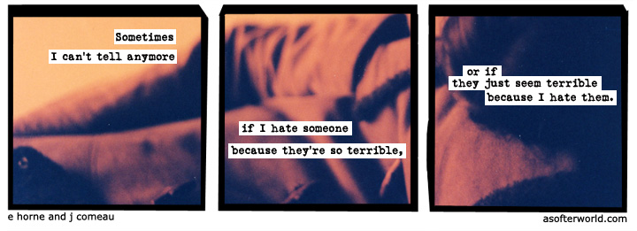 A Softer World 1006 by Emily Horne and Joey Comeau