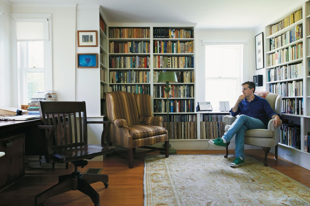 Jonathan Lethem, photographed by John Spinks