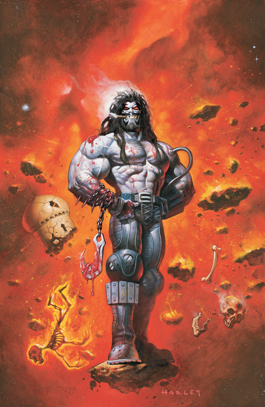 Old Lobo by Alex Horley
