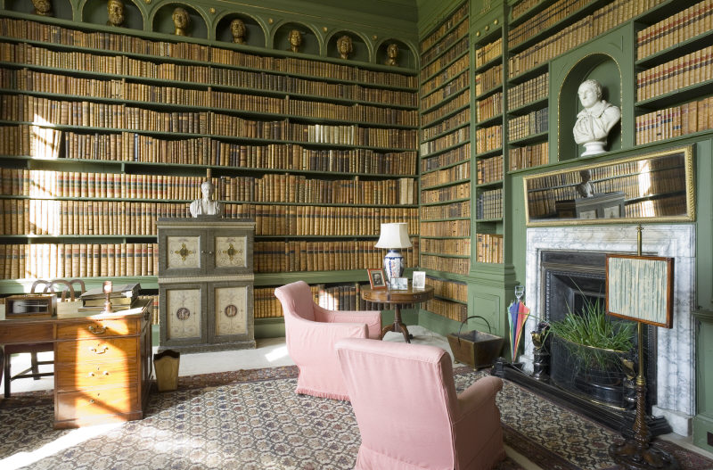 The Study at Belton House in Lincolnshire | ©NTPL/Andreas von Einsiedel