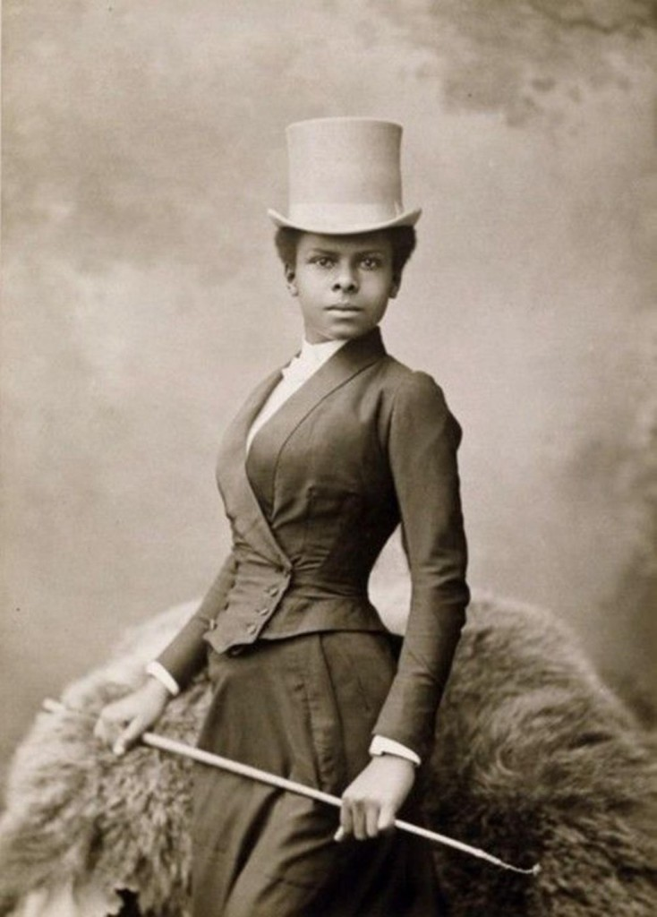 Selika Lazevski, photo by Felix Nadar (1891)